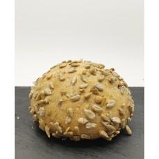 Kvásková pšenično žitná bulka se slunečnicí , 130g